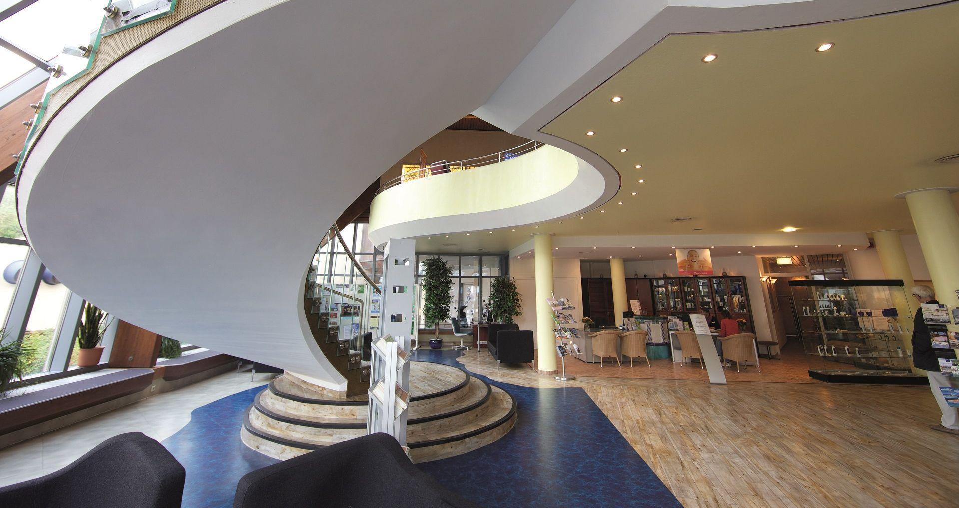 Eingangsbereich des Syltness Centers
