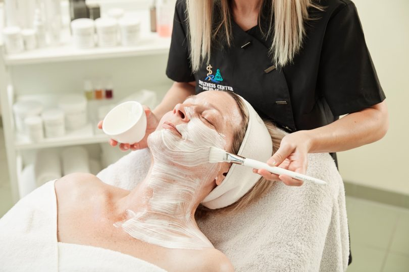 Gesichtsbehandlung im Syltness Center